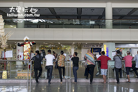 機場計程車櫃臺