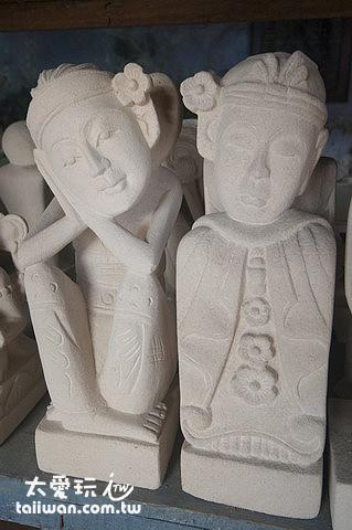 巴里島的藝術品雕像