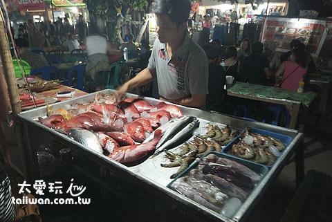Gili Trawangan夜市海鮮燒烤的價格也非常貴