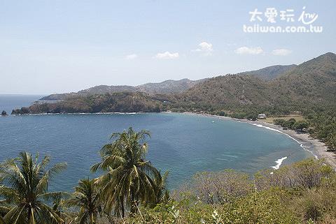 龍目島的海灘