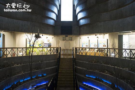 釧路市濕原展望台空間設計特殊