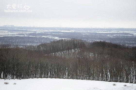 釧路市濕原展望台瞭望濕原