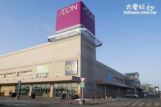 釧路AEON購物中心佔地非常大