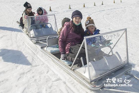 雪上拖曳艇