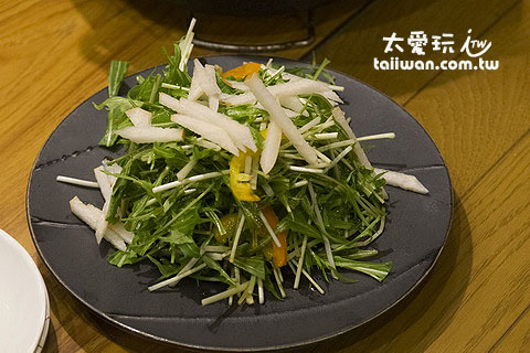 生菜沙拉450日圓