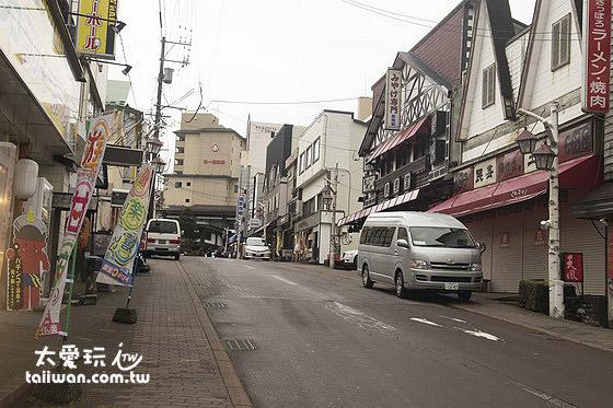 極樂通商店街