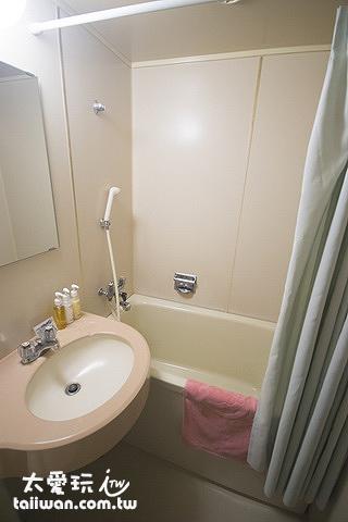 第一滝本館和室房浴室