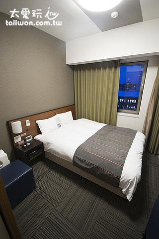旭川多米飯店雙人房(一大床)5.1坪