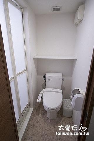 旭川多米飯店雙人房浴廁免治馬桶