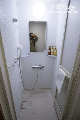 旭川多米飯店雙人房浴廁淋浴