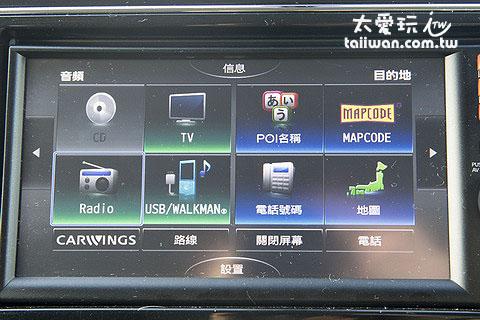 日本的GPS導航可直接輸入電話號碼或MAPCODE找目的地