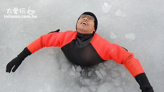 道东第一名的活动 – 流冰漫步
