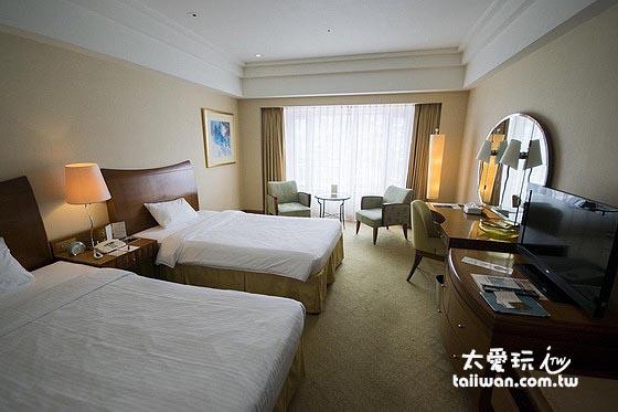 小樽君樂飯店房間空間都很大