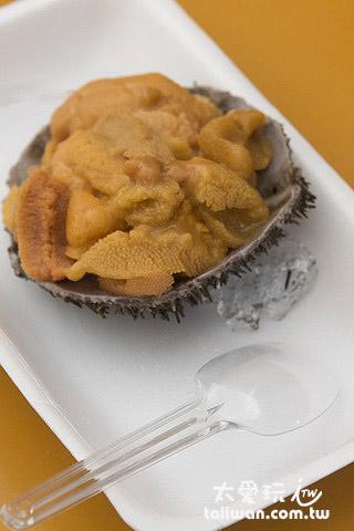 吉岡食堂海膽是遊客的最愛