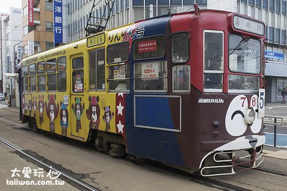 函館搭電車到處走走逛逛來個一日遊是一定要的啦