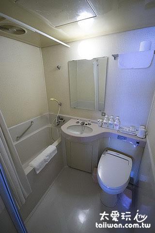 湖景和洋室房浴室