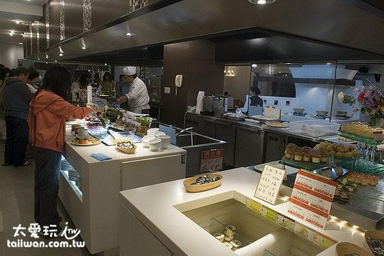 鶴雅休閒度假飯店花幽香自助式晚餐豐富好吃