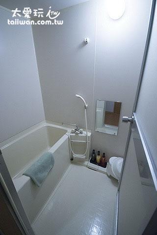 新馆和式房浴室
