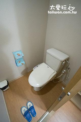 新馆和式房厕所