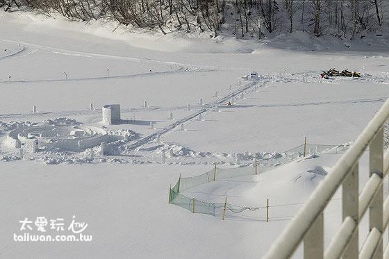 然别湖冰上村 - 冰之迷宫