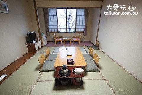 北海道溫泉飯店和室房