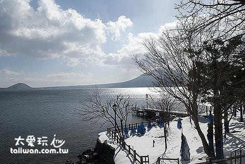 支笏湖美景