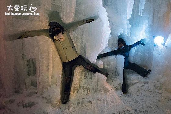 有趣的各種冰雕
