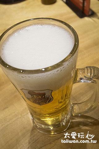 一风堂也有生啤酒