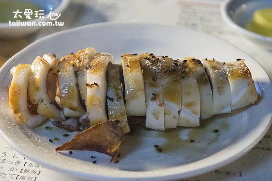 爐端燒美食 - 味噌中卷 800日圓