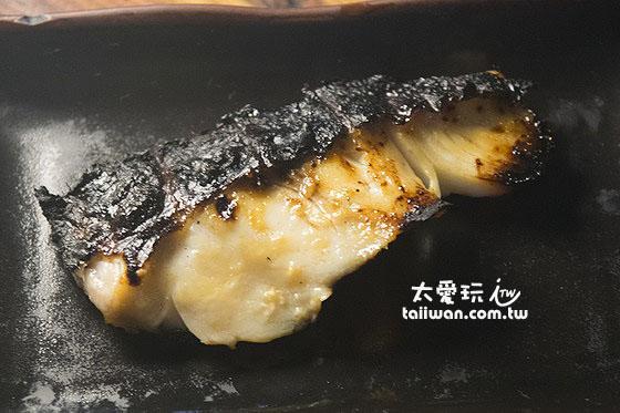 爐端燒美食 - 銀鱈魚