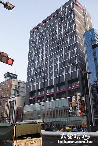 札幌水星饭店Mercure Hotel Sapporo外观
