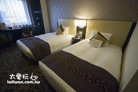 札幌水星飯店房間比我想像中大