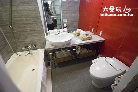 札幌水星飯店房間浴室