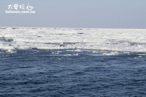 流冰在全盛時期面積可以覆蓋80%的鄂霍次克海