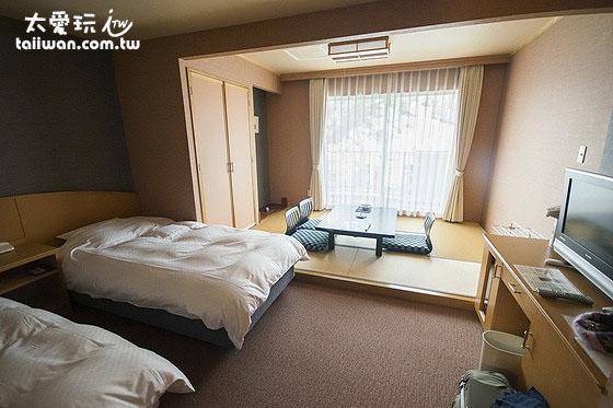 知床高级饭店和洋式房9.7坪(32平方米)