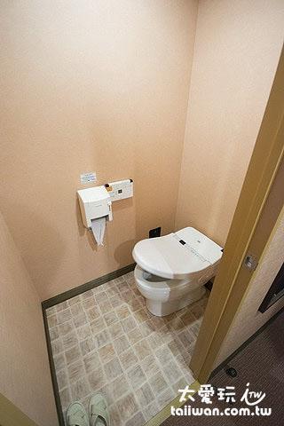 知床高级饭店房间厕所免治马桶