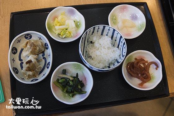 日式的醬菜我很愛