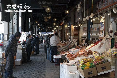 二条市场买海鲜