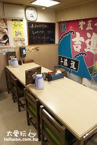 どんぶり茶屋传统餐厅装潢