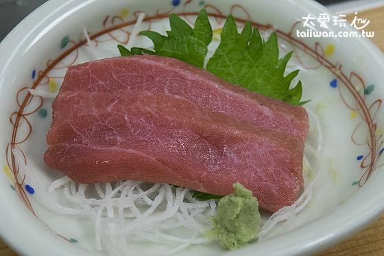 黑鲔鱼刺身切盘