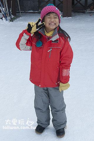 小朋友的滑雪服一天1540日圓