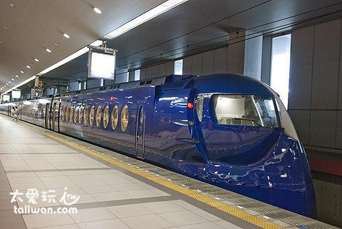 南海電鐵Rapi:t 特急列車造型非常特別