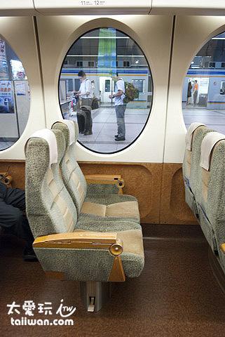 Rapi:t 特急座位空間舒適