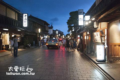 祇園是京都熱門景點之一