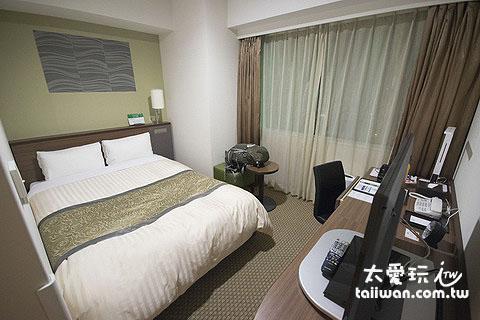 日本商務飯店房間有的會很小