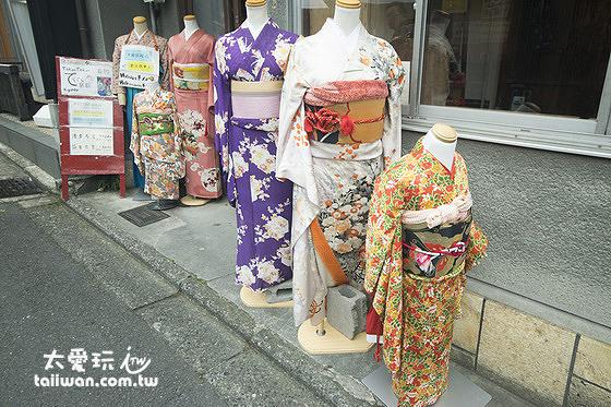 清水寺附近有許多和服出租店