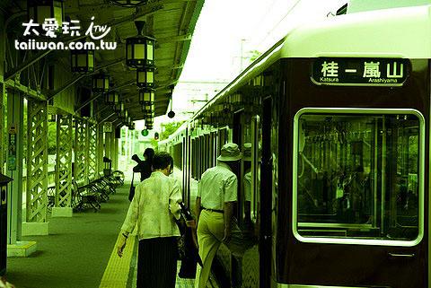 嵐山自古就是日本貴族的市郊莊園所在地