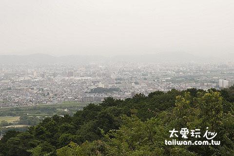 京都市的全景