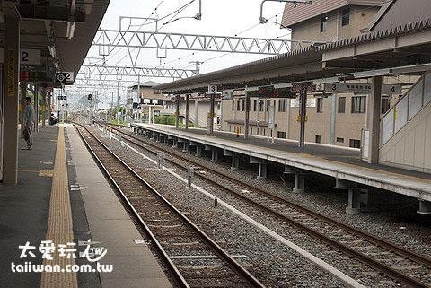 JR嵯峨嵐山站