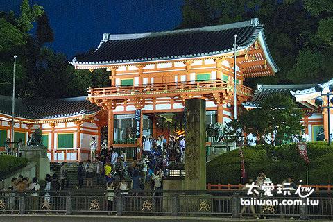 京都八坂神社是祇園祭的主辦神社